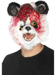 Zombie panda masker voor volwassenen