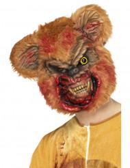 Zombie teddybeer masker voor volwassenen