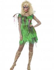 Zombie fee kostuum voor dames