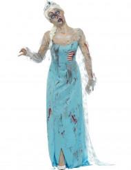 Bevroren zombie prinses kostuum voor vrouwen
