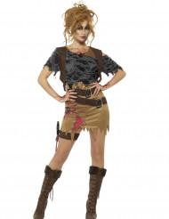 Zombie jager kostuum voor vrouwen