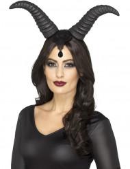 Duivelse koningin hoorns voor vrouwen