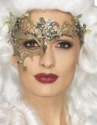Goukleurig metalen oogmasker