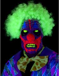 UV clown masker voor volwassenen