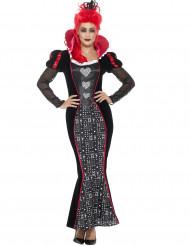 Barok harten koningin kostuum voor vrouwen