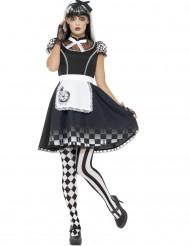 Gothic wonderland kostuum voor vrouwen