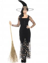 Maan en sterren heks kostuum voor vrouwen