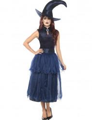 Middernacht heksen kostuum voor vrouwen