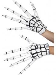 Latex skelet handschoenen voor volwassenen