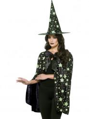 Fosforescerende heksen set voor vrouwen