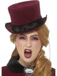Victoriaanse vampier hoed voor vrouwen