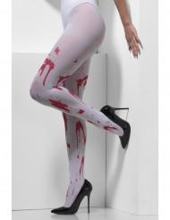 Bloederige panty voor volwassenen