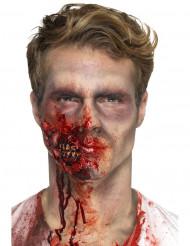 Latex zombie mond prothese voor volwassenen