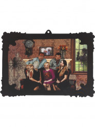 Holografisch familieportret decoratie