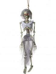 Beweegbare skelet bruid decoratie