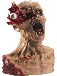 Zombie beeld met geëxplodeerd oog