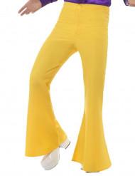 Gele disco broek voor mannen