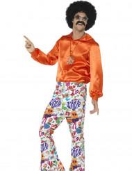 Jaren 60 hippie broek voor mannen