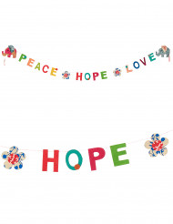 Mini Peace, Hope & Love lokta slinger