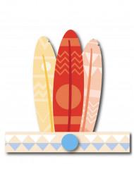 6 indianen tooien pastelkleuren
