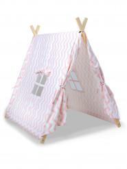 Roze Canadese tent voor kinderen