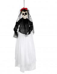 Dia de los Muertos bruid hangdecoratie