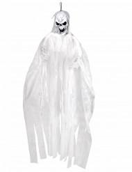 Wit skelet decoratie 150 cm