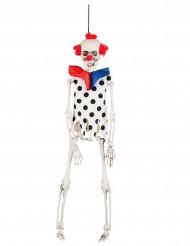 Clown skelet hangdecoratie