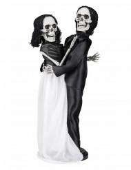 Skelet bruidspaar decoratie