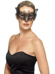 Metalen kat masker voor vrouwen