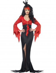 Boosaardige duivelse koningin kostuum voor vrouwen