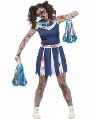 Zombie cheerleader kostuum voor tieners