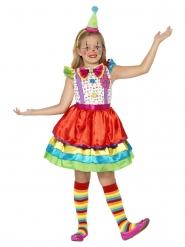 Kostuum clown voor meisjes