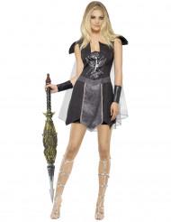 Duistere gladiator kostuum voor vrouwen
