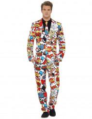 Mr. Boom stripboek kostuum voor mannen