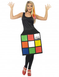 Rubik's Cube™ jurk kostuum voor vrouwen