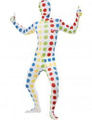Twister™ second skin kostuum voor mannen