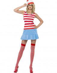 Sexy Waar is Wally™ kostuum voor vrouwen