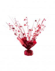 Rood helium ballon gewichtje