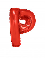 Enorme rode letter P ballon
