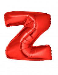 Enorme rode letter Z ballon