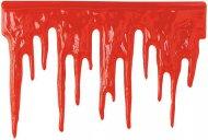 Rode bloederige muurdecoratie