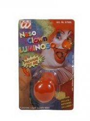 Lichtgevende clown neus