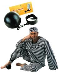 Zwarte gevangene bal voor volwassenen