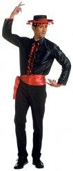 Mannelijke flamenco danser kostuum