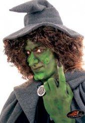 Heksenneus met lijm voor volwassenen