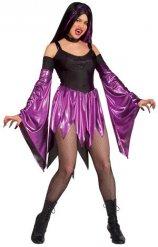 Paarse vampier outfit voor vrouwen