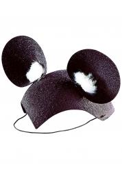 Zwarte en witte muizenoren voor kinderen