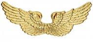 Goudkleurige engelen vleugels voor volwassenen
