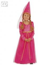Roze feeënprinses kostuum voor meisjes